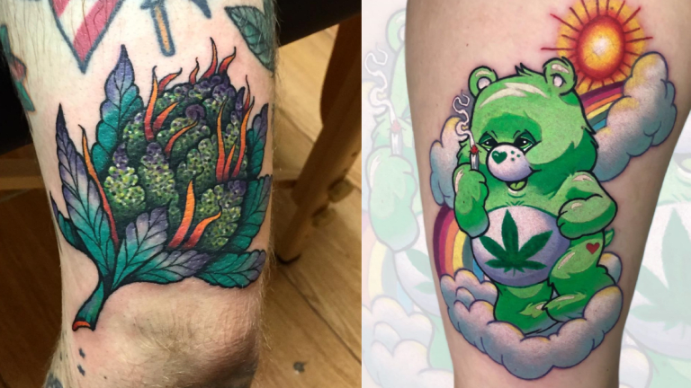 Enjoy These Cannabis Tattoos While Celebrating 4/20