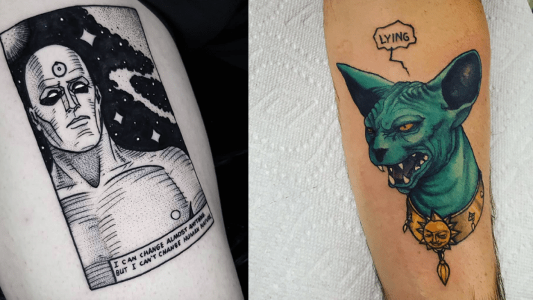 Comic Book Tattoos For Free Comic Book Day