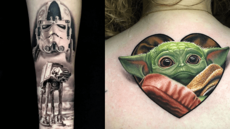 May the Fourth Be With These Star Wars Tattoos