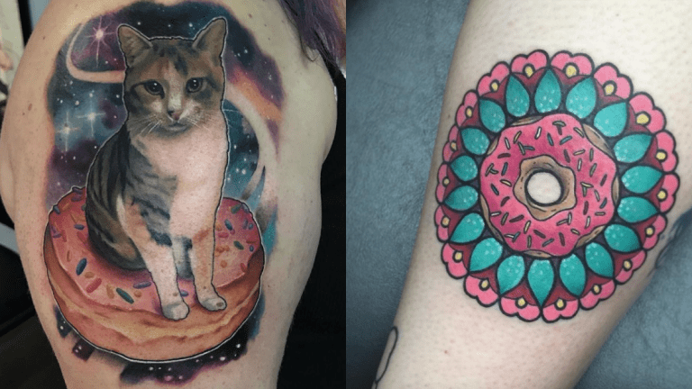Delicious Donut Tattoos