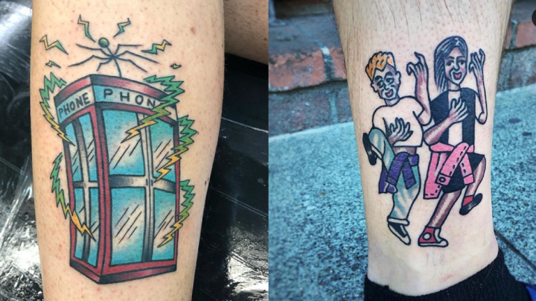 Bill & Ted's Excellent Tattoo Adventure