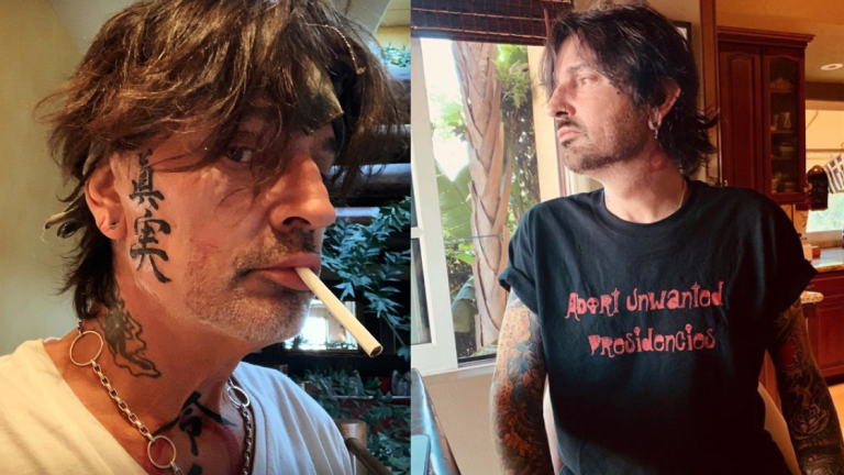 Tommy Lee Adds a Pair of Face Tattoos