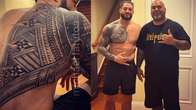 Roman Reigns Adds to His Traditional Tattoo