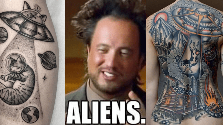 UFO Tattoos That Will Blow Your Mind