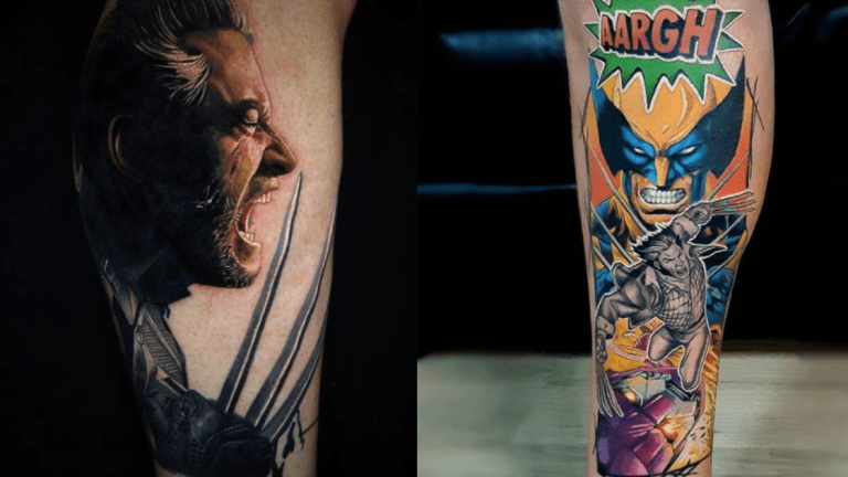 Wolverine Can Get Tattoos, but They Aren't as Permanent as Yours Are