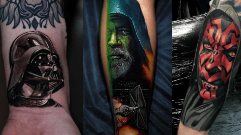 May The Fourth Be With These Tremendous Star Wars Tattoos