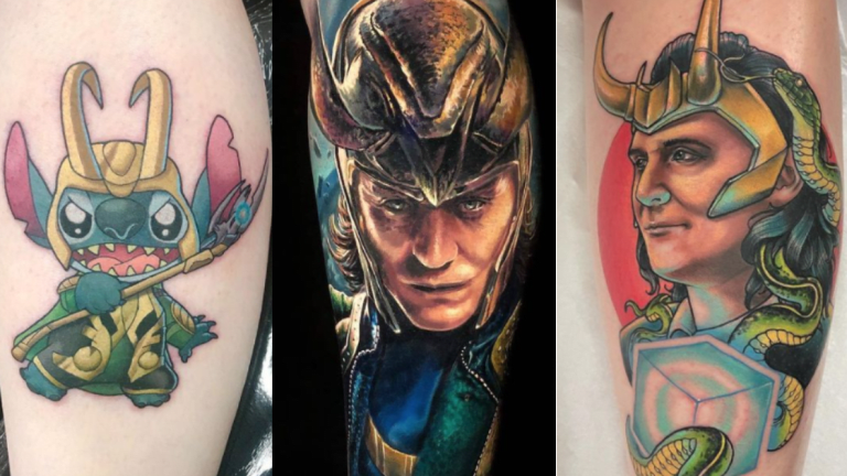 Let's Get Mischievous with Some Loki Tattoos