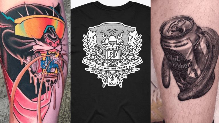 Show Off Your PBR Tattoo and Score A Sweet Shirt