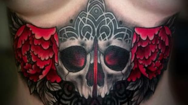 Best underboob tattoo ideas women