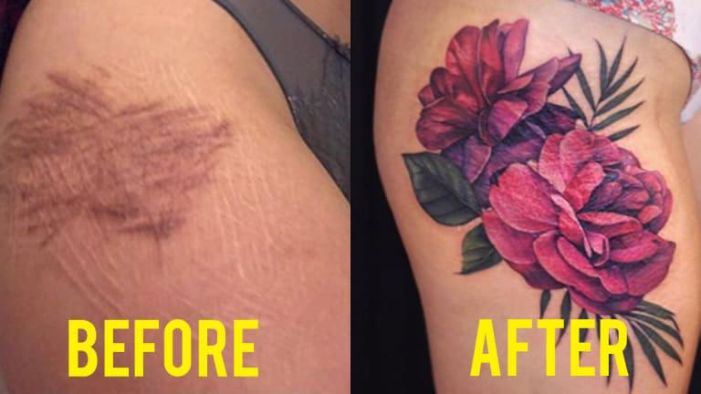 free tattoos for self harm scars