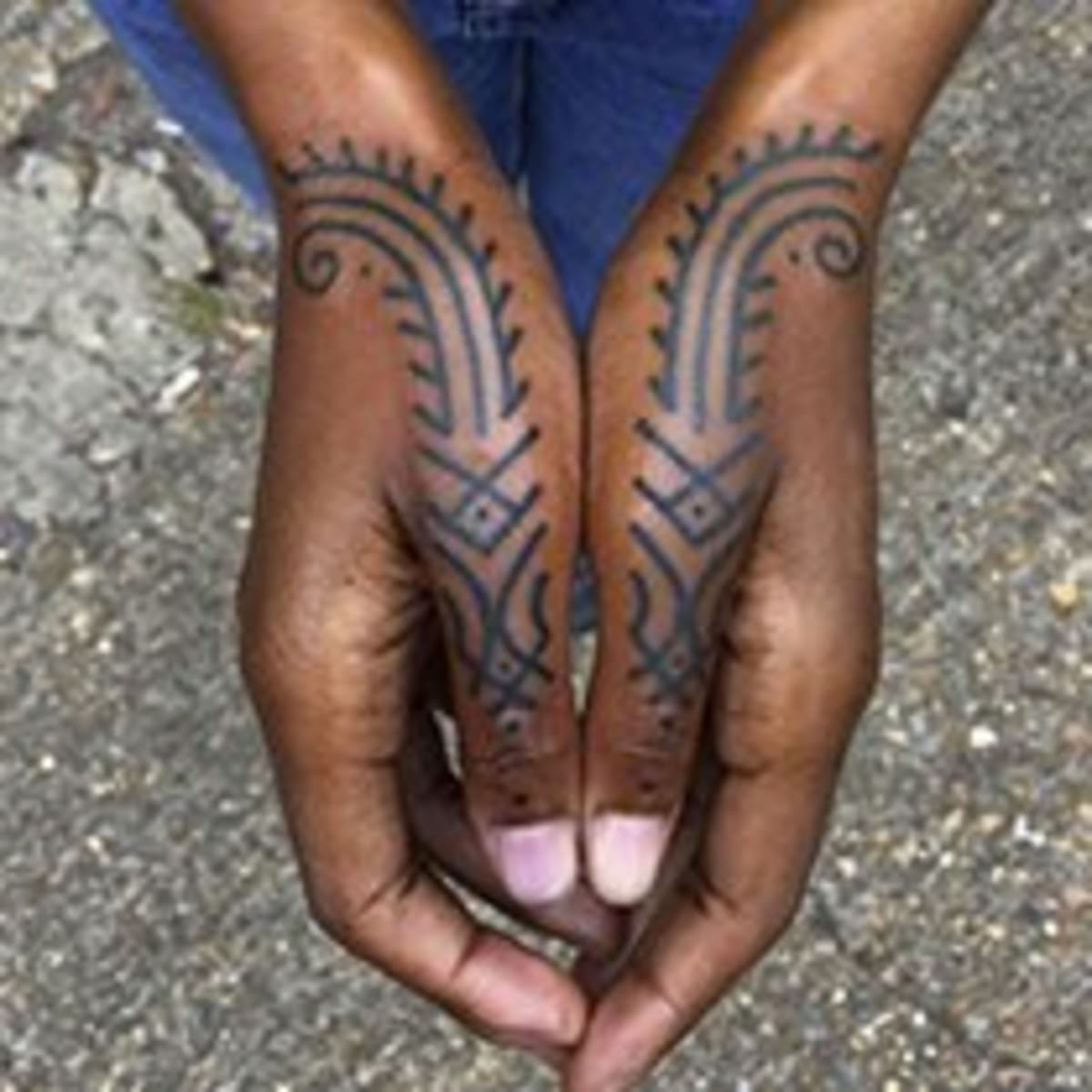 The Sociological And Scientific Significance Of Tattooing Dark Skin Tattoo Ideas Artists And Models This young black man did not love his shoulder tattoo which was put on to. tattooing dark skin tattoo