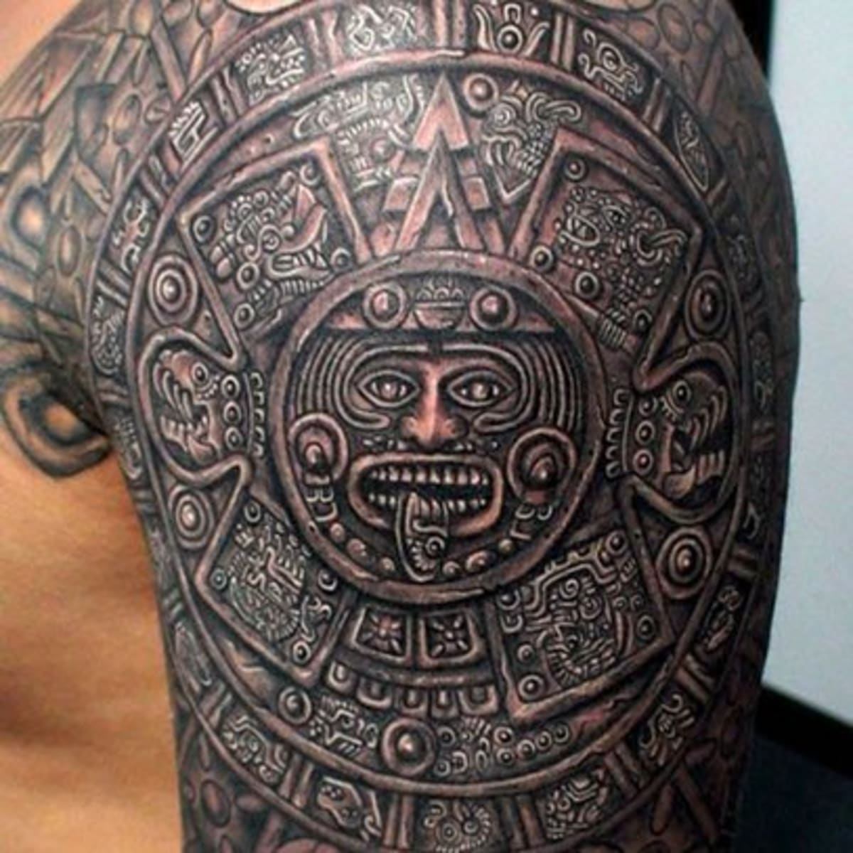 Aztec Tattoos Inked Magazine Tattoo Ideas Artists And Models