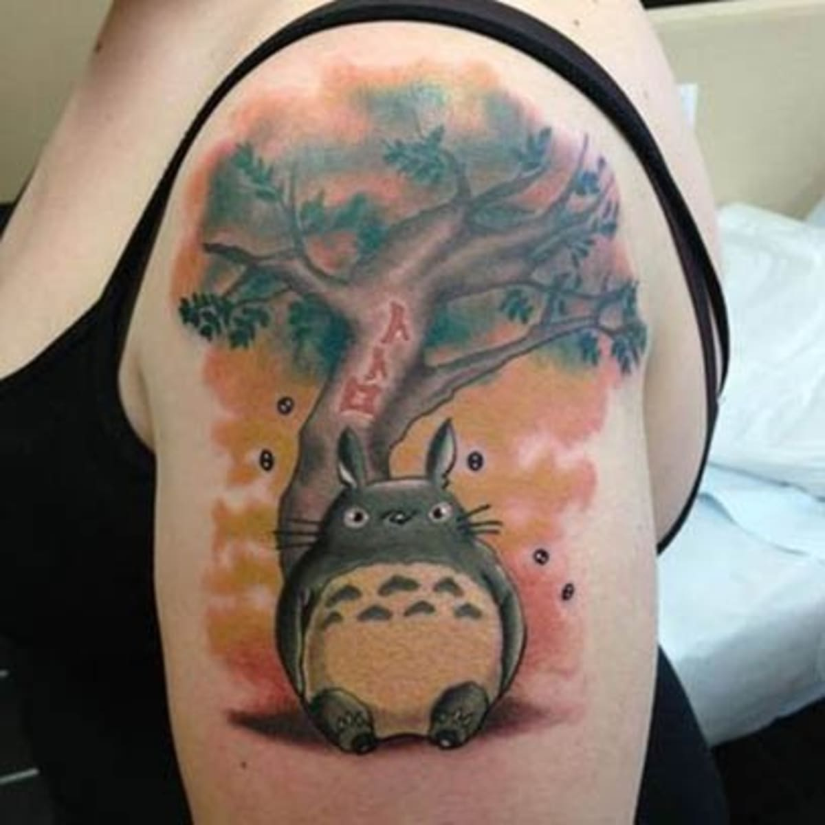 Tattoos Inspired By Hayao Miyazaki Tattoo Ideas Artists And Models