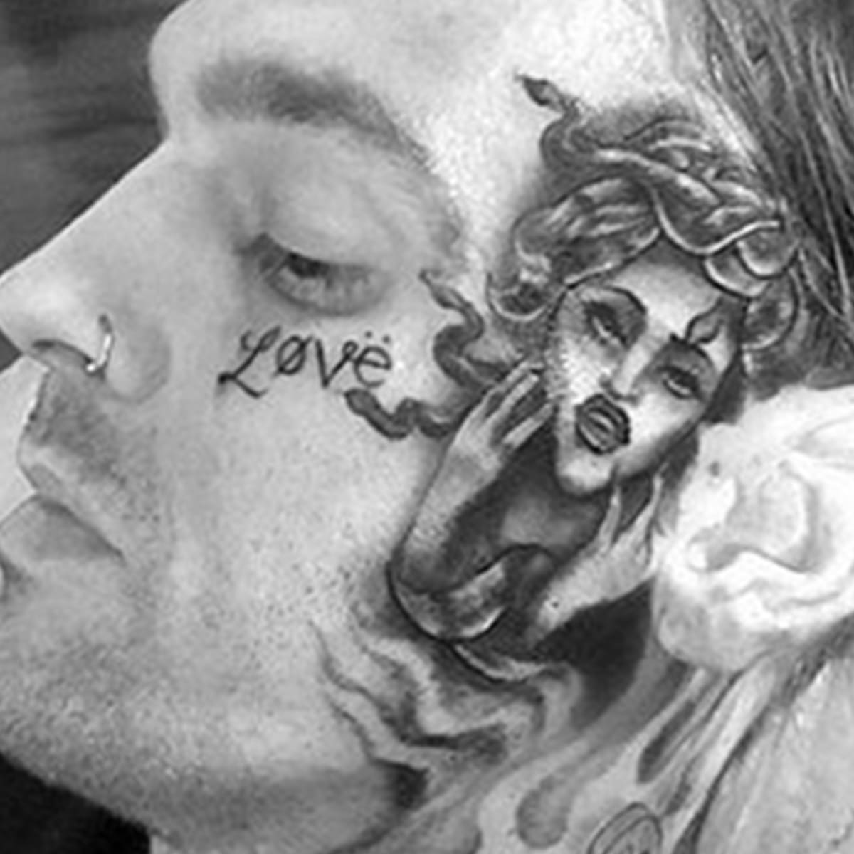 Aaron Carter Fixed His Face Tattoo Tattoo Ideas Artists And Models