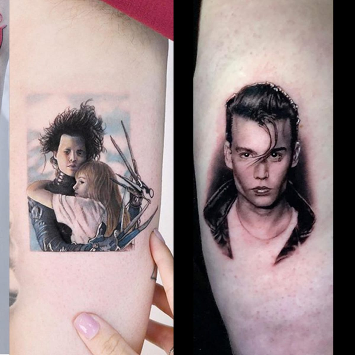 Would You Get A Johnny Depp Tattoo Tattoo Ideas Artists And Models