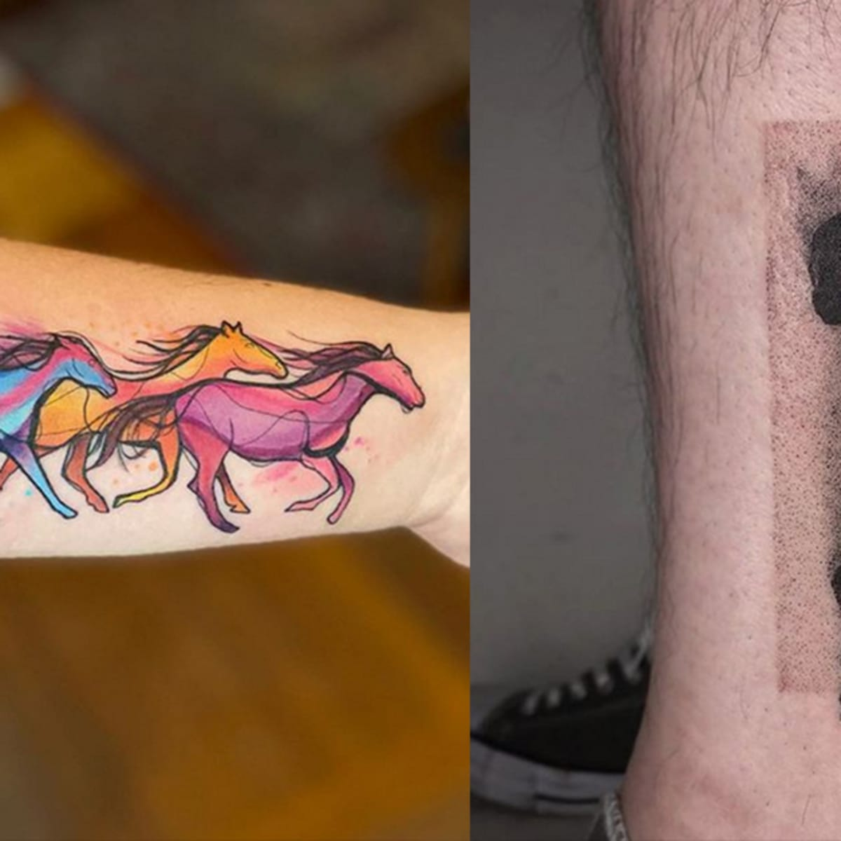 20 Beautiful And Badass Tattoos For National Horse Day Tattoo Ideas Artists And Models