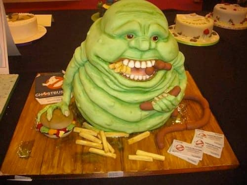Even the Ghostbusters would be fooled into thinking this was the real Slimer.