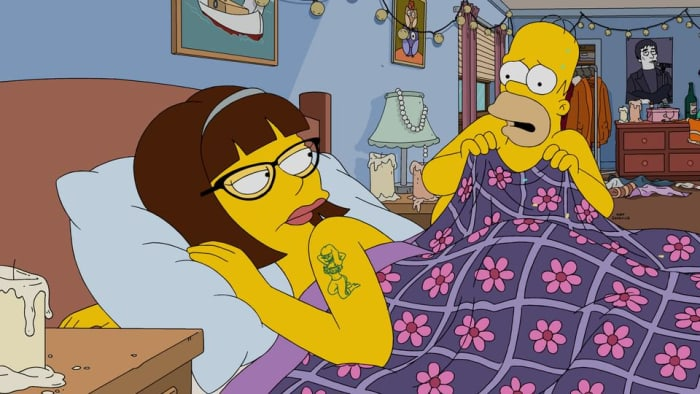 It was only a dream, Homer.