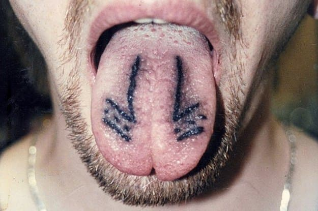 Believe it or not, but you can actually tattoo your tongue!