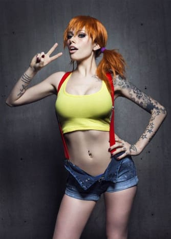 Misty from Pokemon is a favorite costume of cosplayers everywhere.