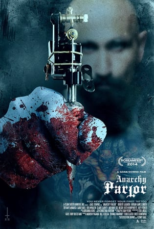While on a trip to Lithuania, a group of tourists are seduced by sexy tattooer Uta to get tattooed at her 'parlor.' However, when the group arrives, they learn that Uta and her boss 'Artist' have a sinister plan for their band of travellors.