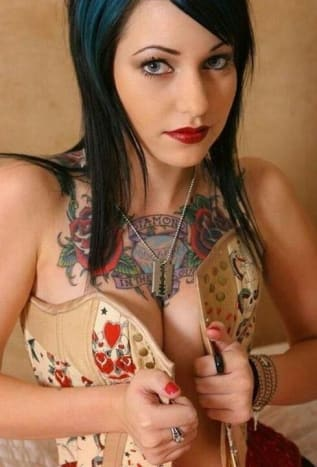 That corset has it's work cut out for it.
