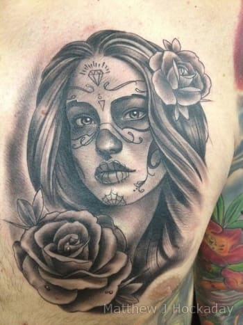 Top 10 Dia De Los Muertos Tattoos Tattoo Ideas Artists And Models