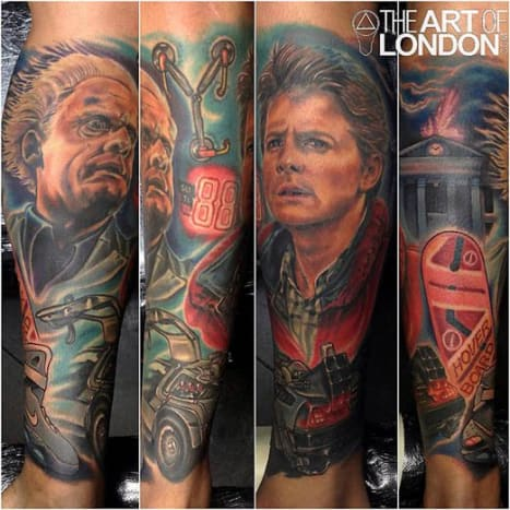 This sleeve by London Reese is insane!