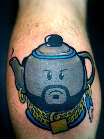 I pity the fool that doesn't laugh at this tattoo.
