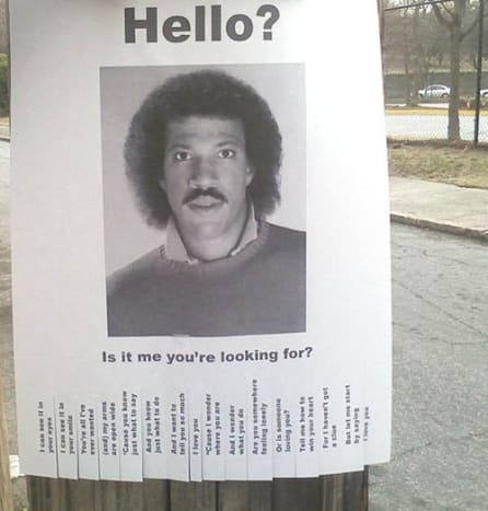 Lionel Richie was nothing if not sincere.