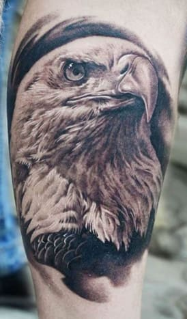 This incredibly realistic tattoo was inked by AD Pancho.