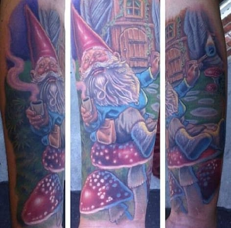 This jolly gnome was done by Marc Durrant.