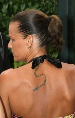 The daughter of Grace Kelly has a number of tattoo considered the OG royal rebel.