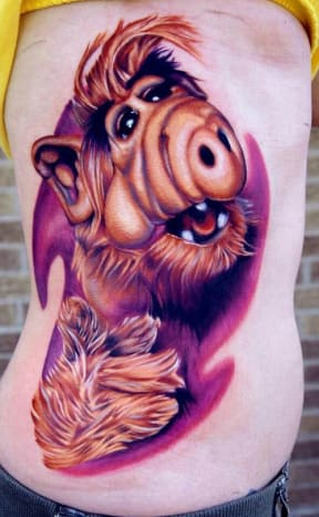 This tattoo is probably very popular on Melmac.