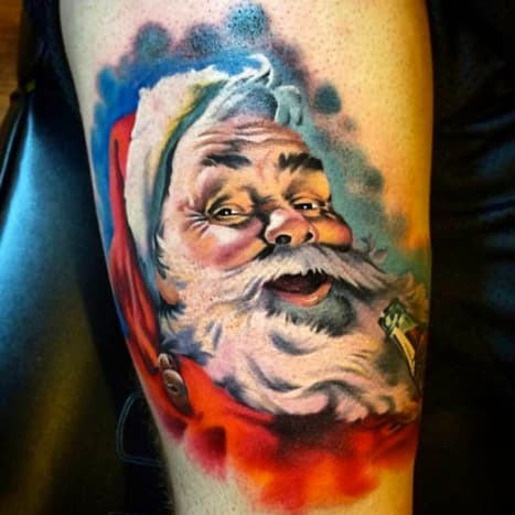 This remarkable St. Nick by Matt Tyszka will get you in the holiday spirit in no time.