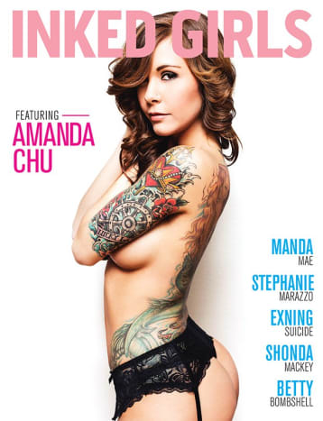 This might be the best cover of Inked Girlsyet!