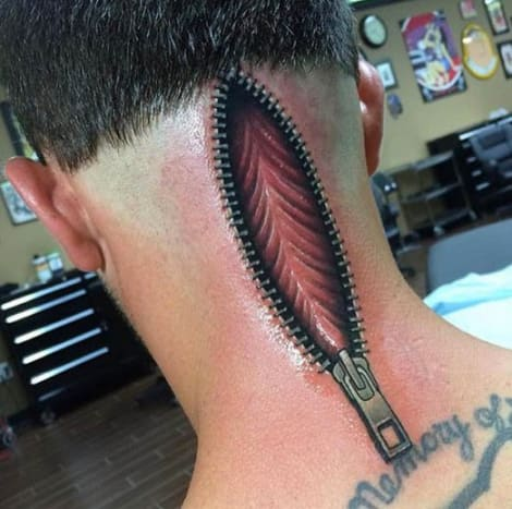 0c147cde5 This scar coverup by Al Garcia is one of the most mind-bending tattoos that  ...