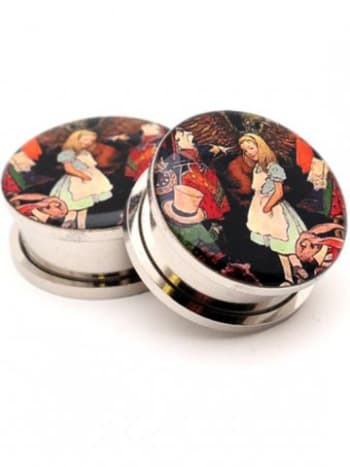 Give Alice to the guy or gal you're mad about. These plugs and more at Inked Shop.