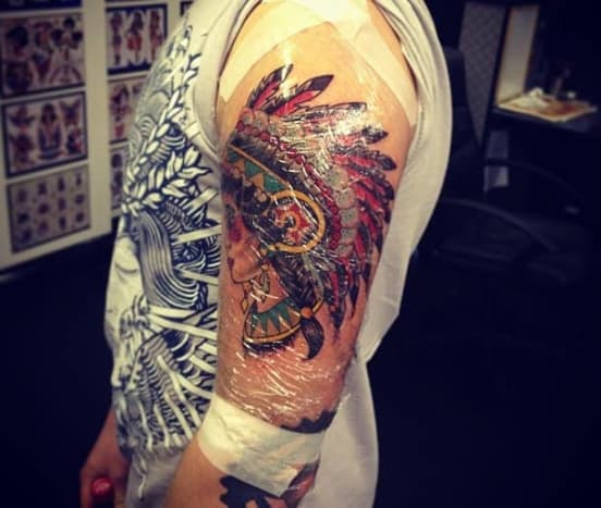 Look, when you get a tattoo your body (and skin) reacts as if it has just gotten wounded. The skin is naturally going to be inflamed and is working on preventing infection and repairing itself. A typical reaction to this process is for the skin to become itchy.