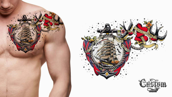 History Of Tattoos In The Military Tattoo Ideas Artists