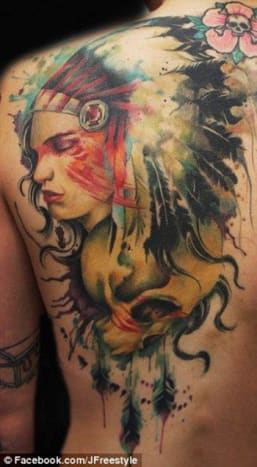 This amazing piece was done freehand by Jay Freestyle.