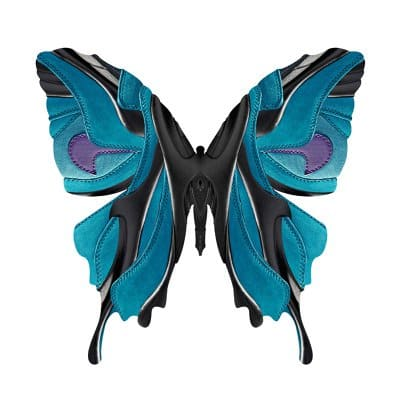 Who knew shoes could look so good as a butterfly?