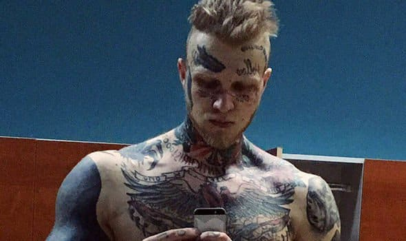 Denis Shalnykh is a 26-year-old tattoo enthusiast and body builder from Russia.
