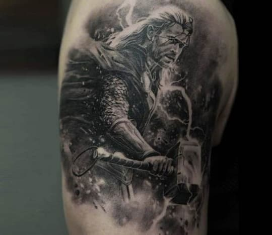 Tattoo by @dmitriysamohinThis film made a whopping 816.4 million dollars at the box office this year.
