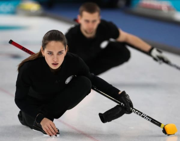 Meet Russian curler, Anastasia Bryzgalova, who is competing in the 2018 Winter Olympics.