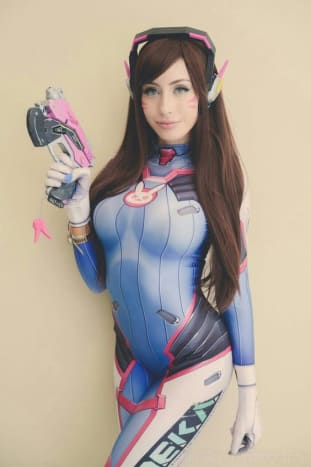 D.Va was first introduced in 2016's Overwatch—a first person shooter game.