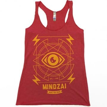 "Available at INKEDSHOP.COM: Women's ""Broadcast"" Tank by Mindzai Creative"