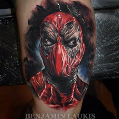Benjamin Laukis captures Deadpool in all of his glory here.