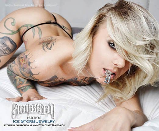 Goddamn this ad is steamy. If you like what you see you can find Steadfast Brand at INKEDSHOP.COM.