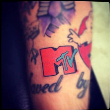 This awesome little MTV jammer was inked by Tony Davis.